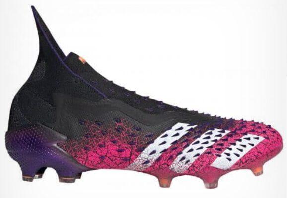 Botas de fútbol adidas PREDATOR FREAK + FG Rosas Negras