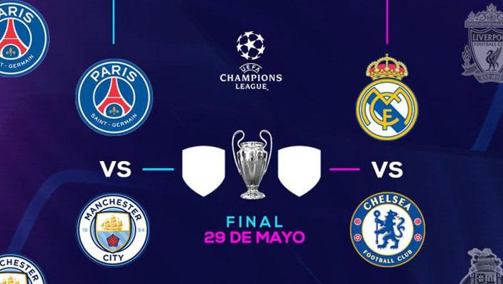 Semifinales Champions League 2021